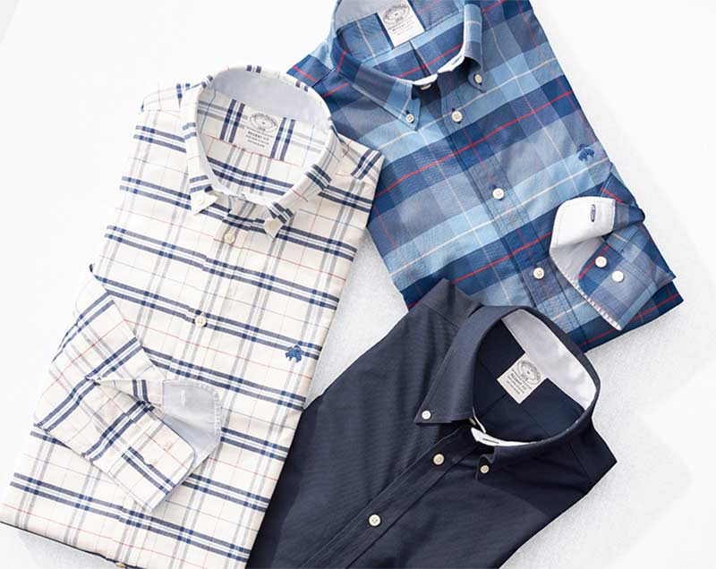 Stretch Non-Iron Shirts at Brooks Brothers