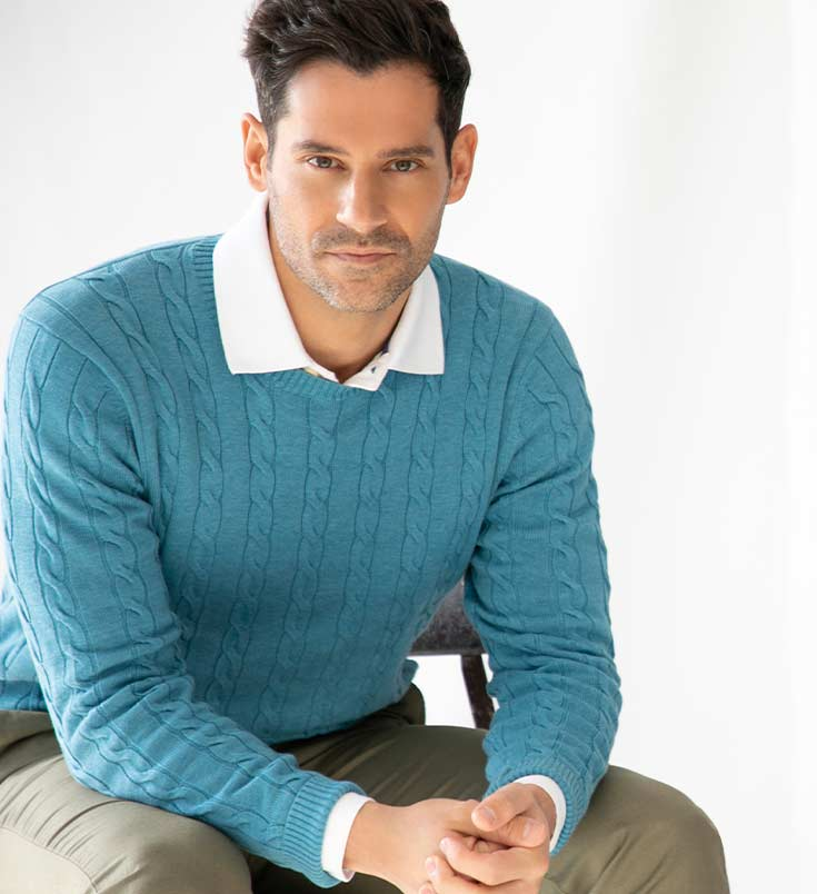 Men's Supima® Sweaters by Brooks Brothers