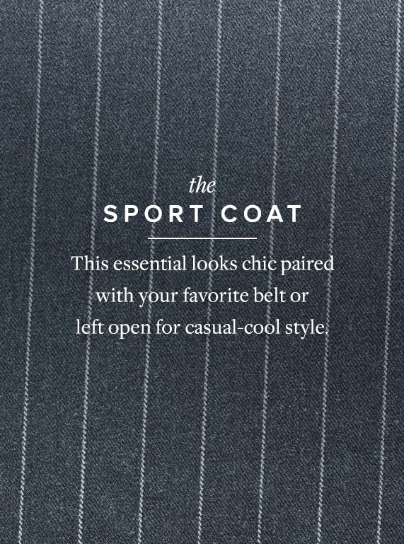 Borrowed from the Boys - The Sport Coat