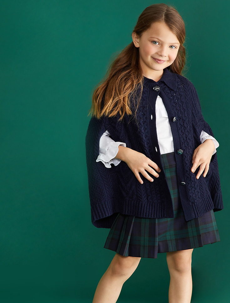 Girls' Sweaters by Brooks Brothers