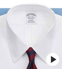 Brooks Brothers - Four-In-Hand Knot