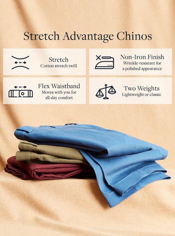 Stretch Advantage Chinos
