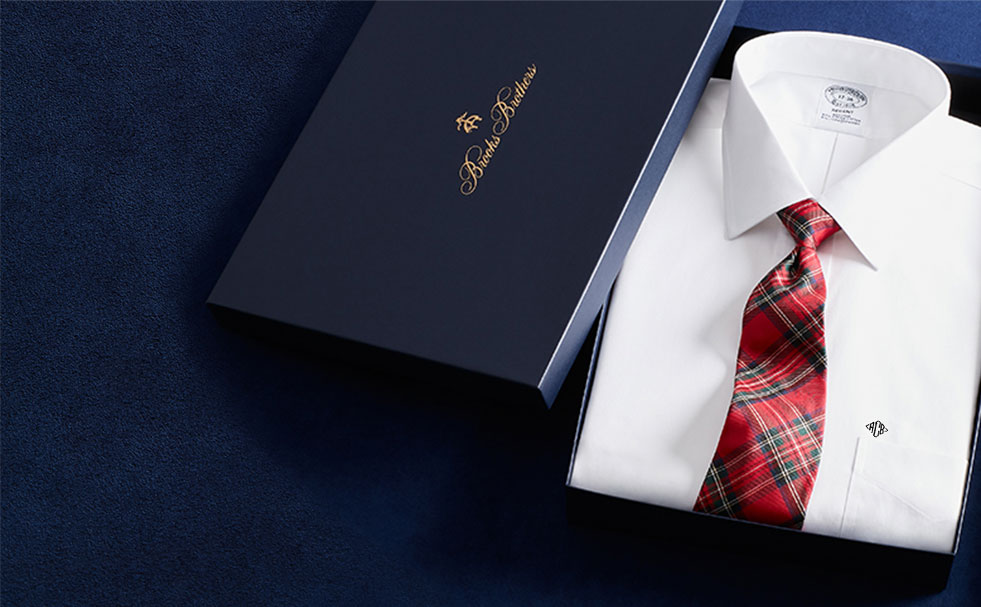 Brooks Brothers Monogram Dress Shirts