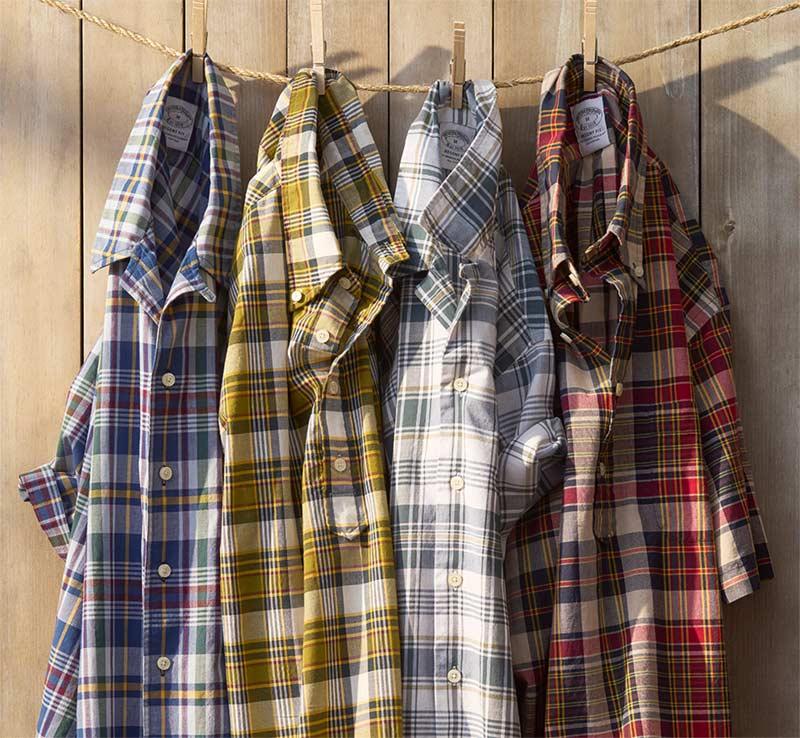 Lightweight Fabrics by Brooks Brothers