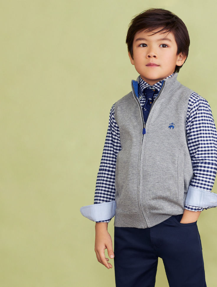 Boys' Sweaters and Vests by Brooks Brothers