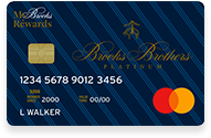 The Brooks Brothers Platinum Mastercard
