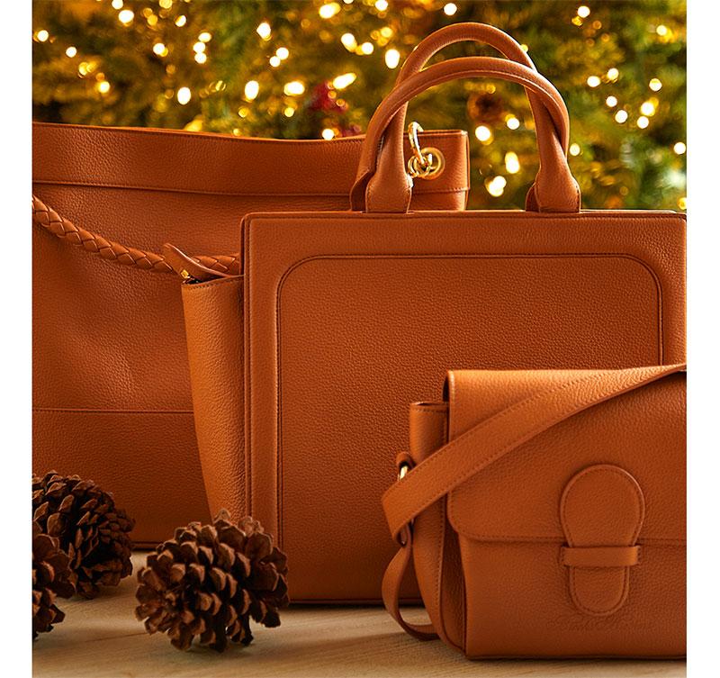 Handbags by Brooks Brothers