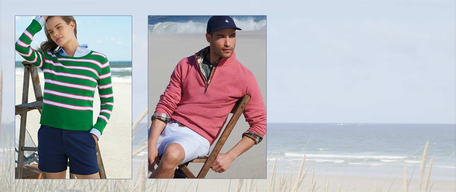 A Classic Summer with Brooks Brothers