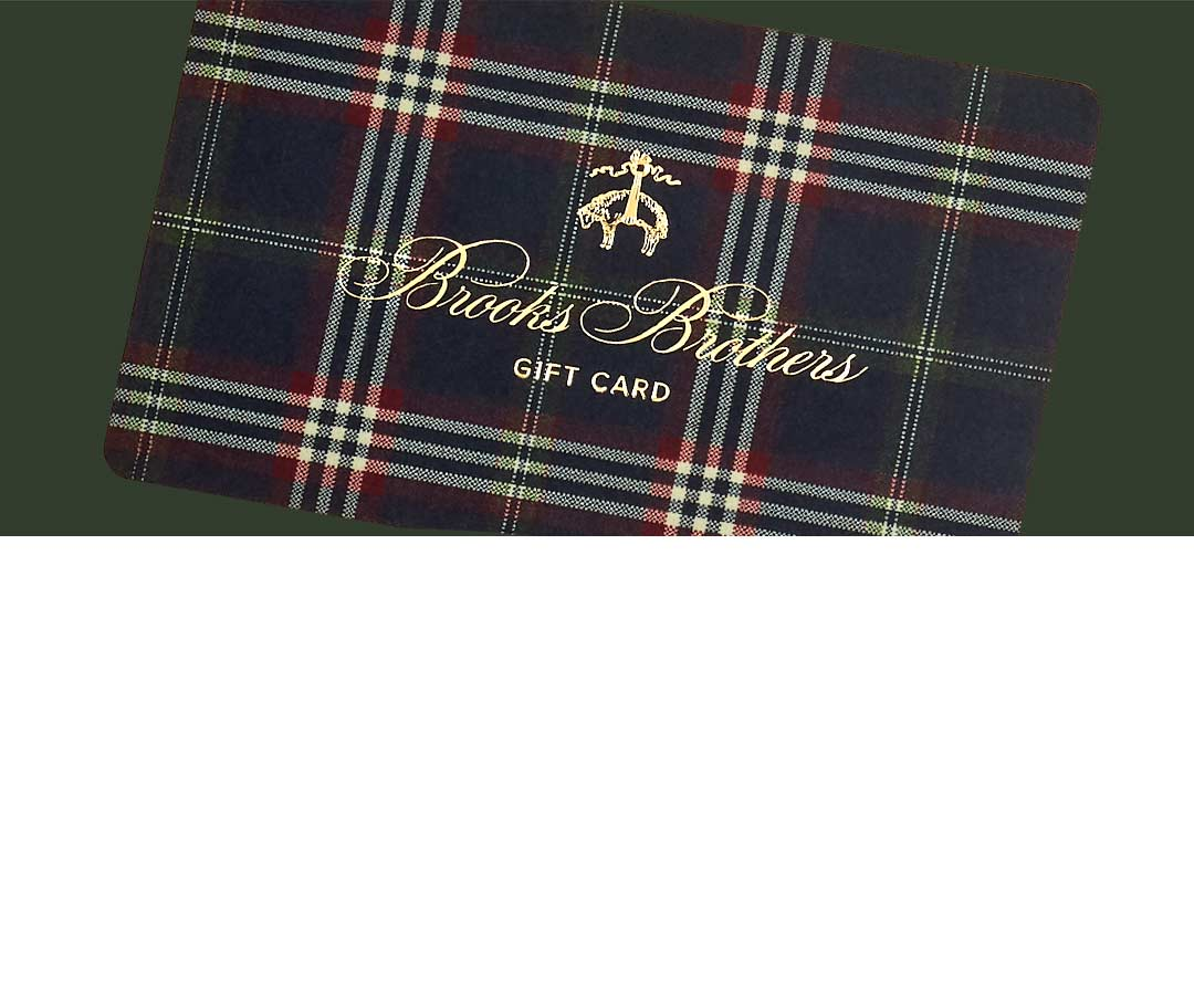 Gift Cards by Brooks Brothers