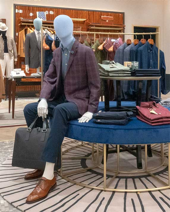 Brooks Brothers Stores Reopening