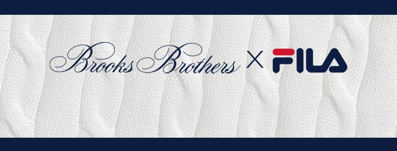 Brooks Brothers X FILA