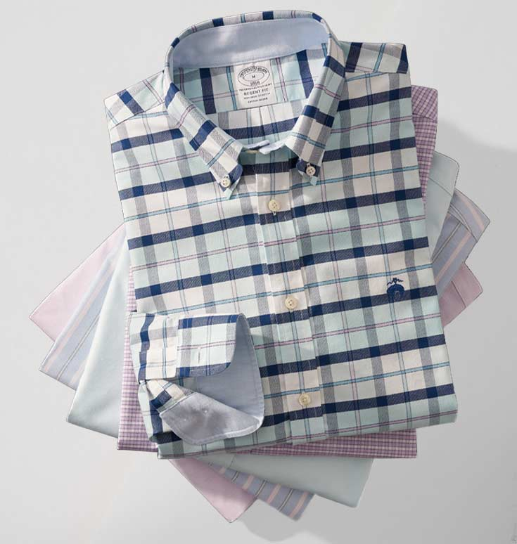 Shirts 3 for $199 at Brooks Brothers