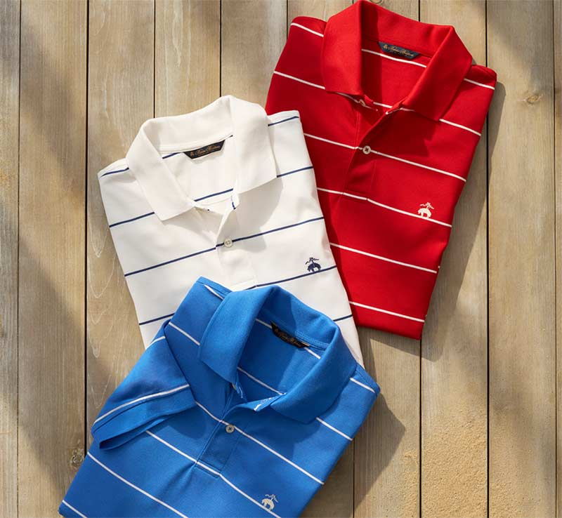 Polos & T-Shirts by Brooks Brothers